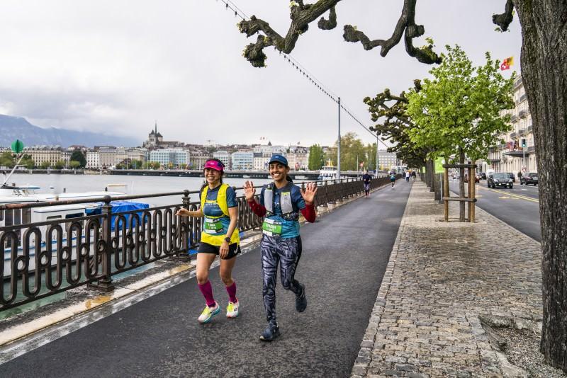 A successfully adapted edition of the Harmony Geneva Marathon for Unicef